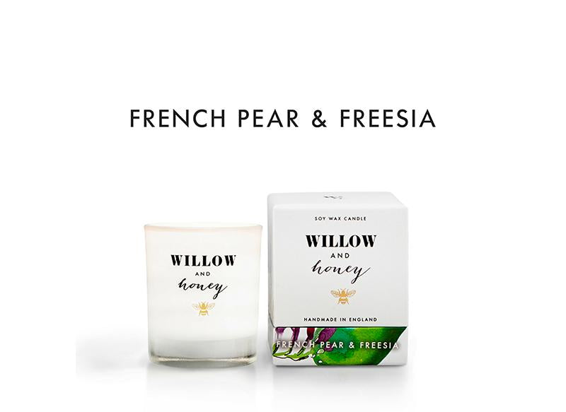 White French Pear and Freesia 60g - Mini - Candle