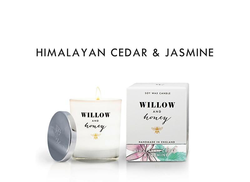 White Himalayan Cedar and Jasmine 220g - Candle