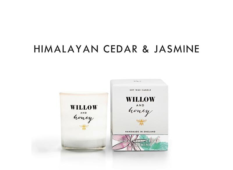 White Himalayan Cedar and Jasmine 60g - Mini - Candle