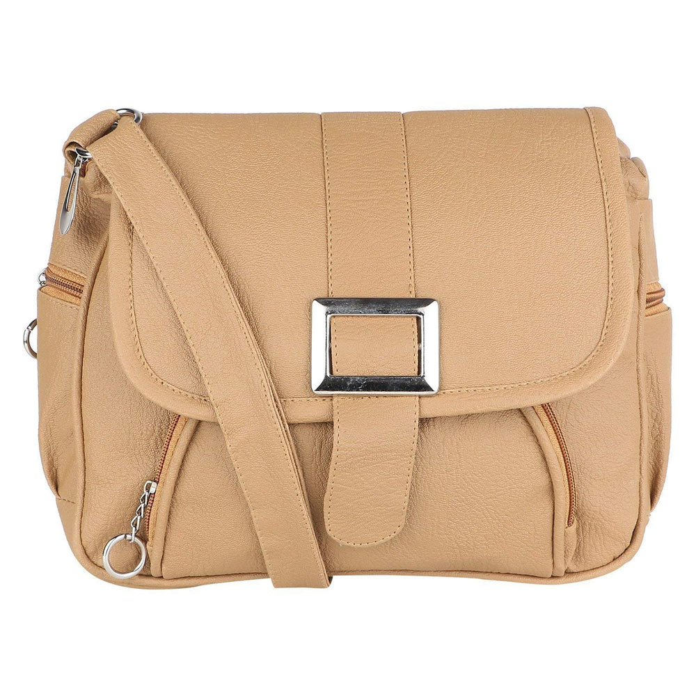 Sling Bag for Women (Beige)DDSG01