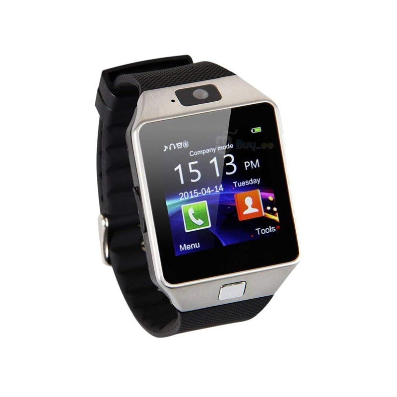 Dz09 Smartwatch with SIM Slot, Memory Card Slot and Camera Support