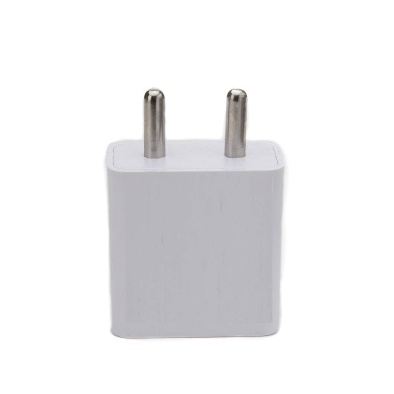 Mobile Charger  (White, Cable Included)