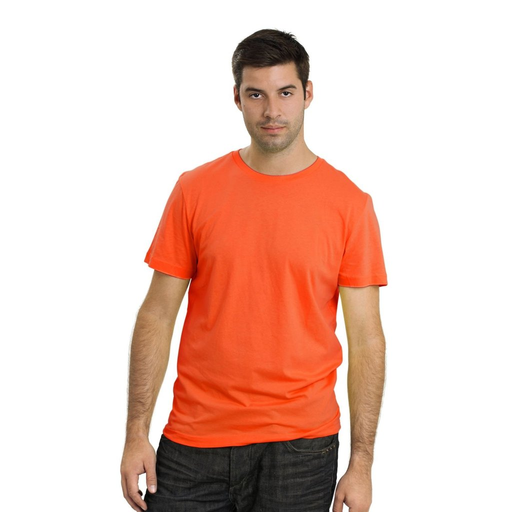 Men's Plain T-Shirt Orange