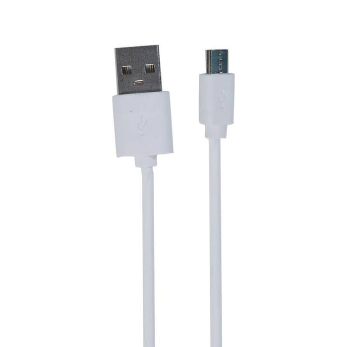 Charge Cable- High speed 1m-2.4A Micro  (White)