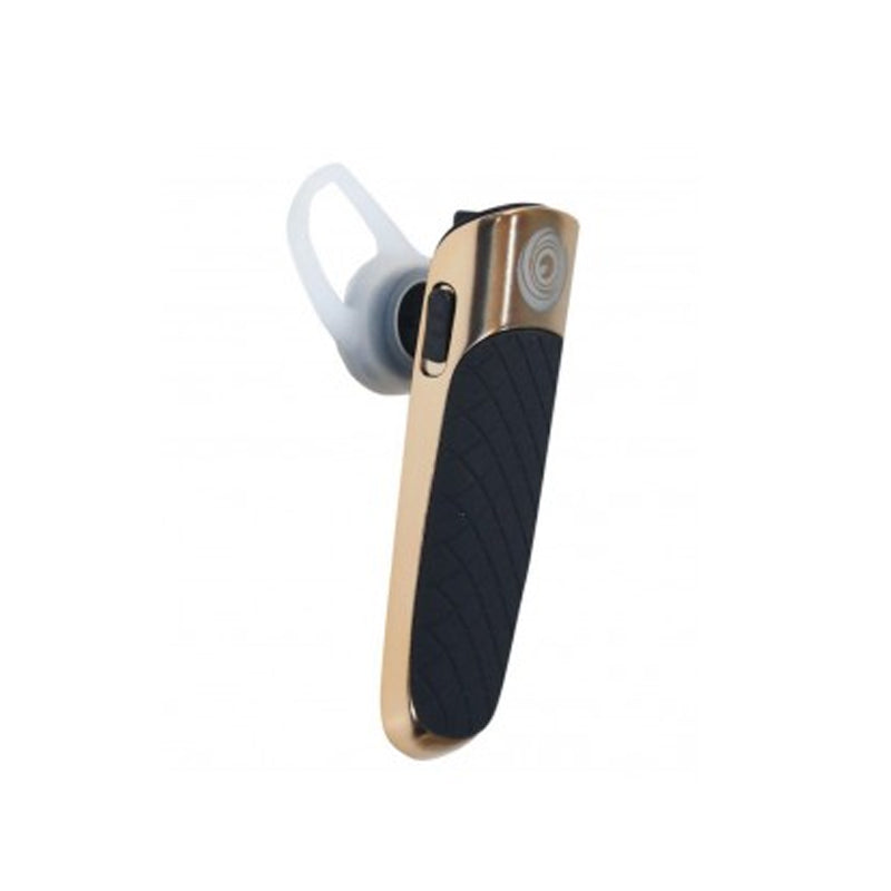 Elegant design  Bluetooth Headset with Mic  (Black, Golden)
