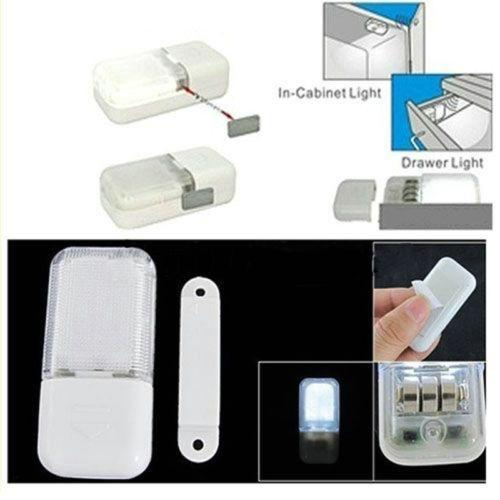CABINET DOOR WIRELESS NIGHT LAMP