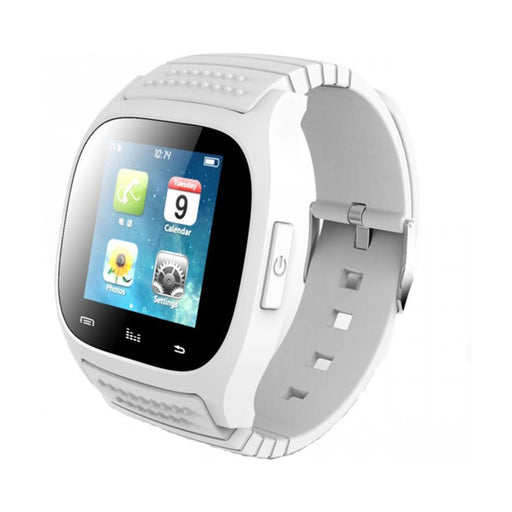 M26  Smartwatch  (White Strap )