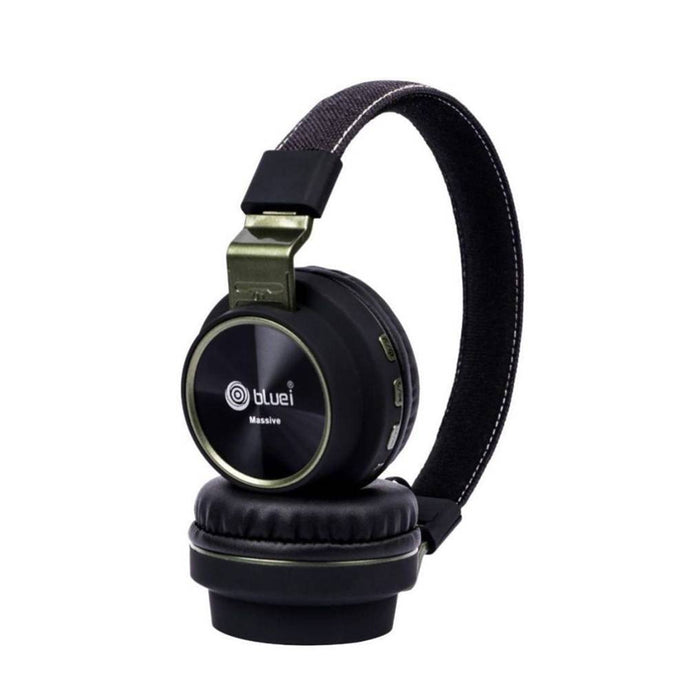 Bluetooth Headset with Mic  (Black)