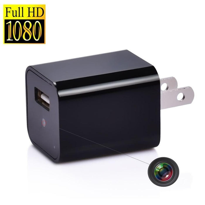 USB Wall Charger Spy Camera COD