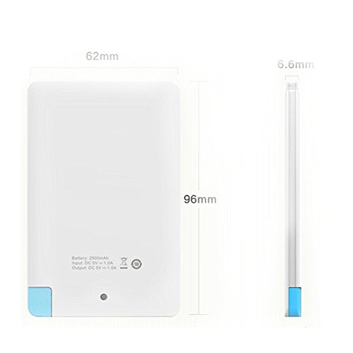 Credit Card Shape Slim Power Bank quality