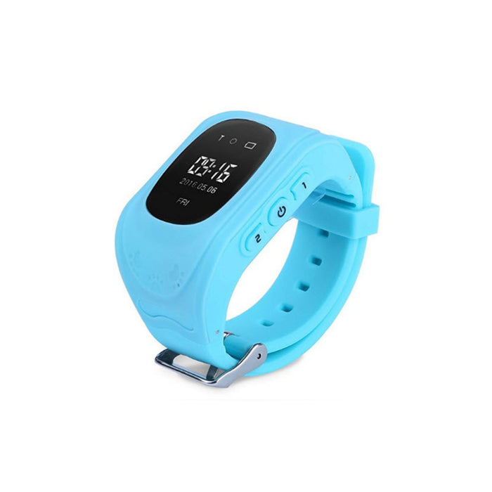 GPS Kid Tracker Watch blue