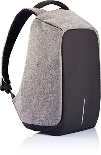 grey Anti Theft Backpack