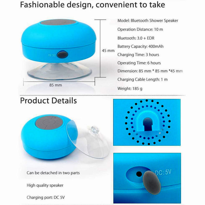 Bluetooth Shower Speaker quality