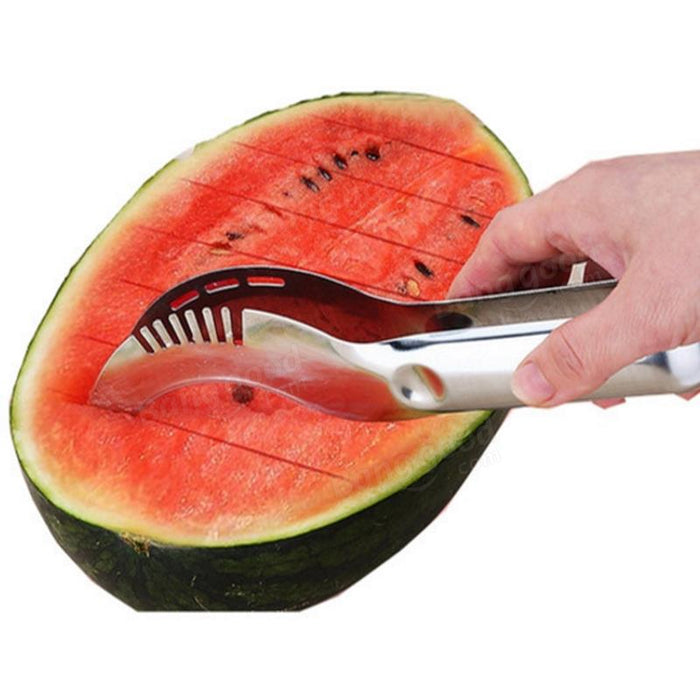 Watermelon Slicer Corer Cutter uses