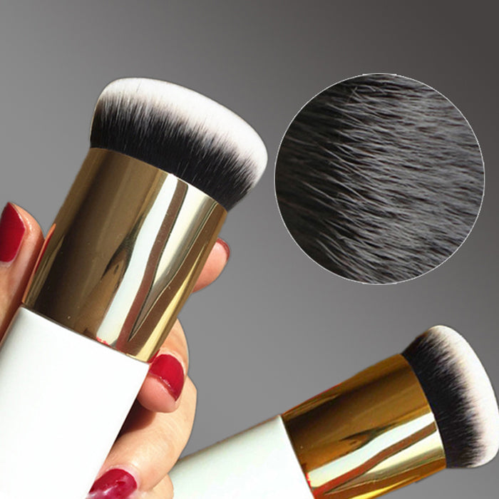 FLAT LIQUID FOUNDATION MAKEUP BEAUTY BRUSH