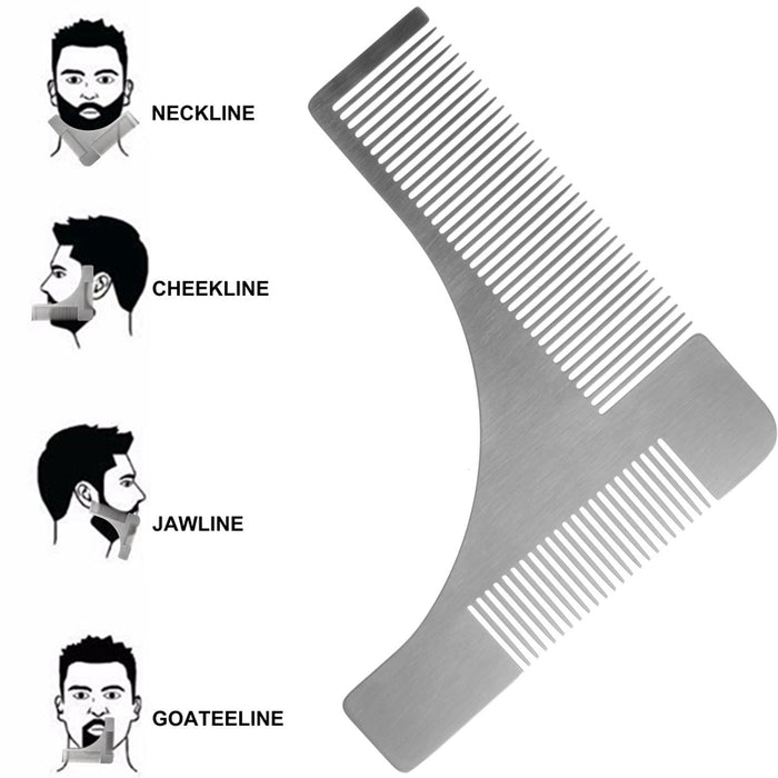 Beard Bro Shaping Tool uses