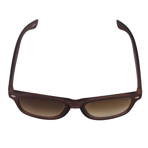 Unisex Sunglass - UV Protected -Matt Finish Wayfarer -Brown Lens - DD020202