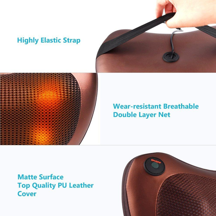 Self Rotating-Rolling Massager uses