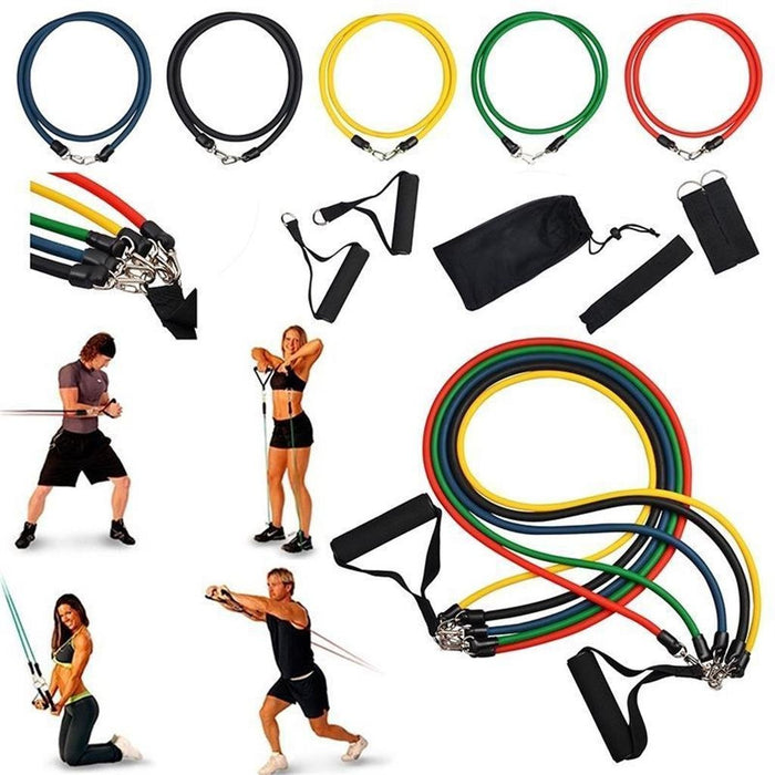 Exercise Resistance Bands Set uses