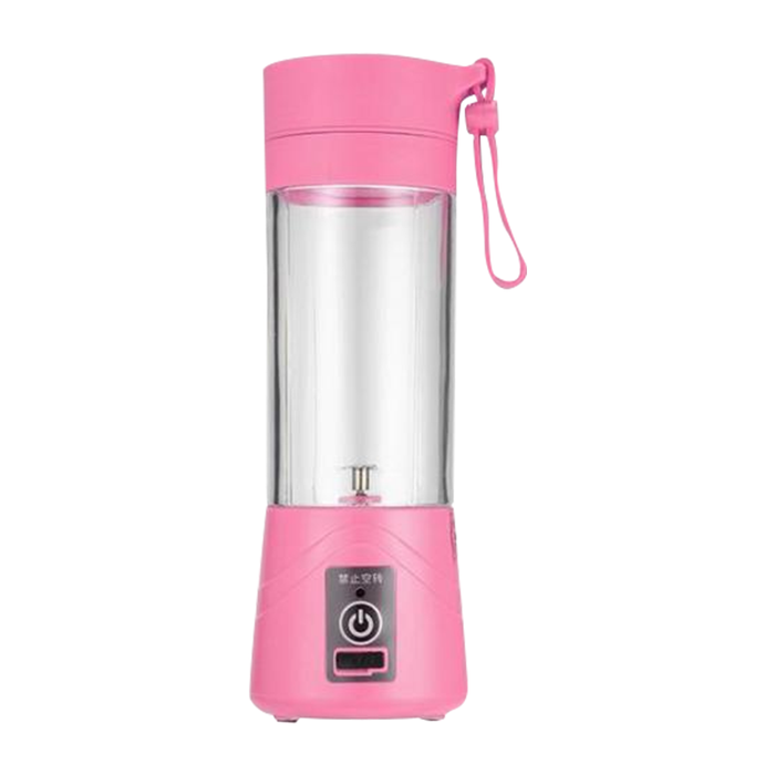 USB Rechargeable Portable Juicer pink