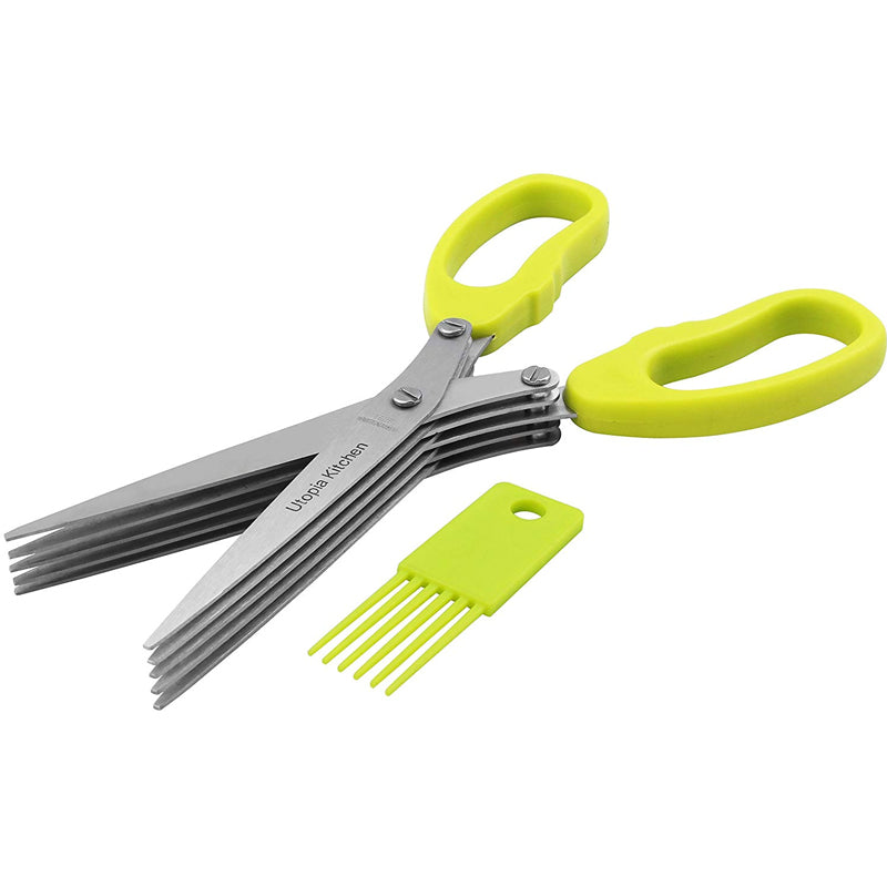 Multifunction 5 Blades Vegetable Scissors