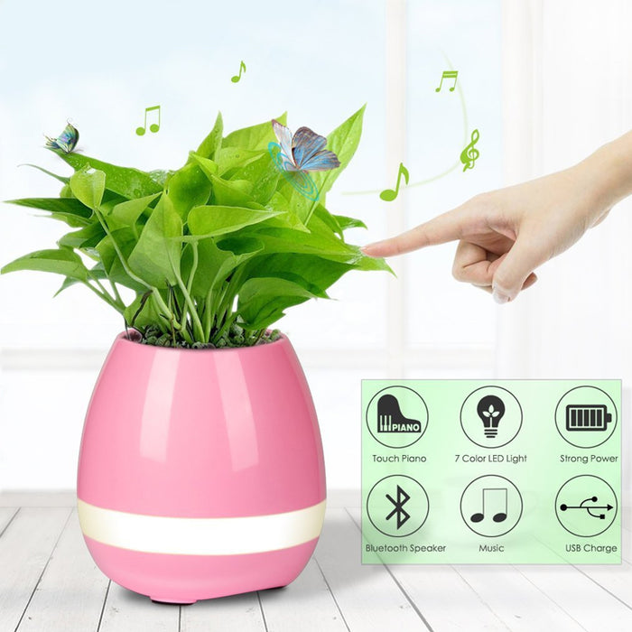 Smart Music Flower Pot uses