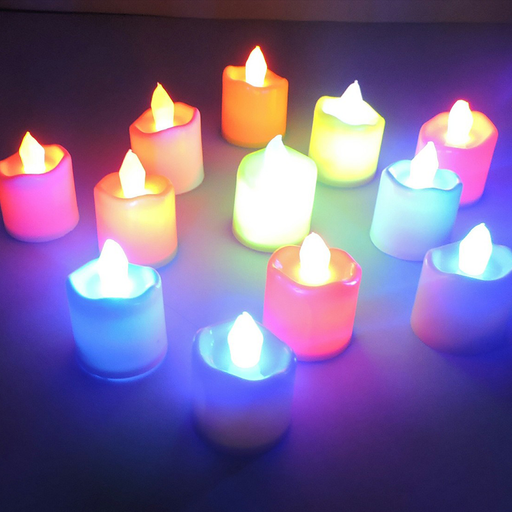 LED Candles (Set of 10)