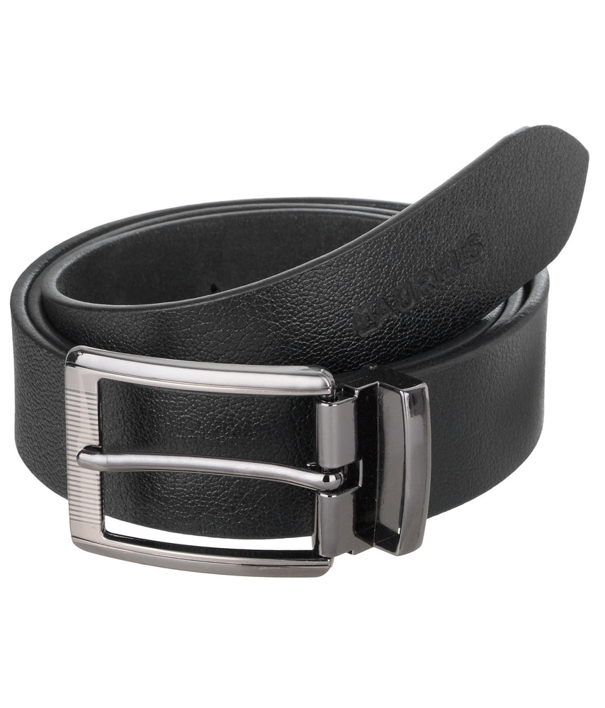 Black Color Semi- Formal Genuine Leather Belts For Men- Lbt-Ast-02