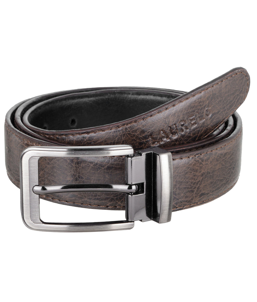 Brown Color Semi- Formal Genuine Leather Belts For Men- Lbt-Bcrp-09