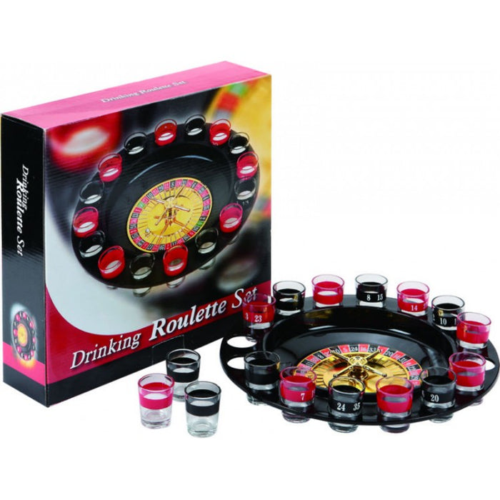 ROULETTE DRINKING GAME 16PC SET P