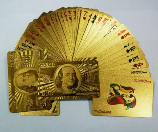 Gold Plated Playing Cards Price