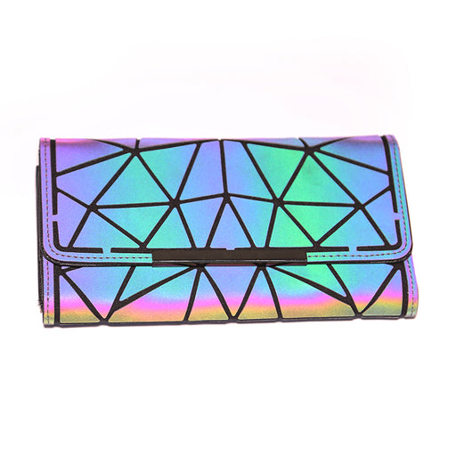 Lumos Reflective Flap Wallet