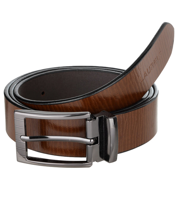 Black Color Semi- Formal Genuine Leather Belts For Men - Lbt-Wd-09