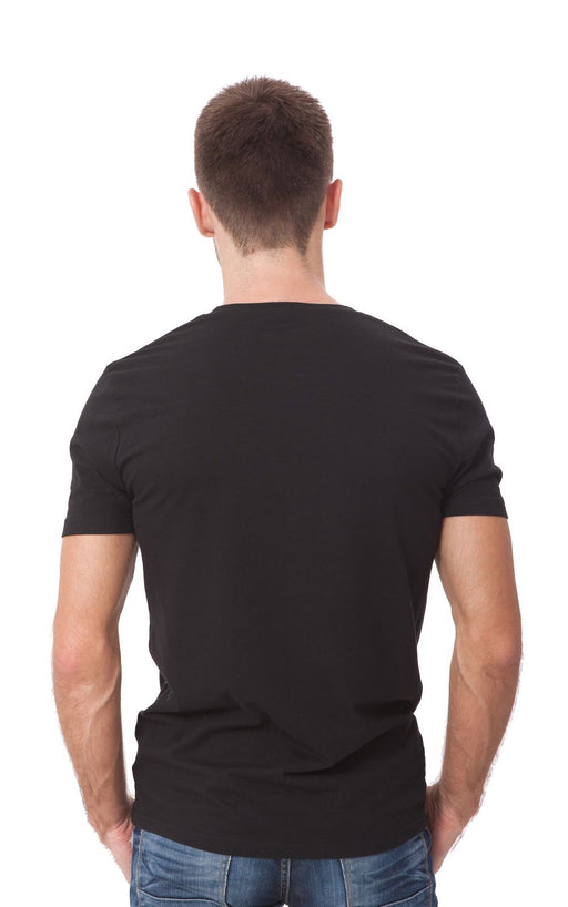 Men's Plain T-Shirt Black