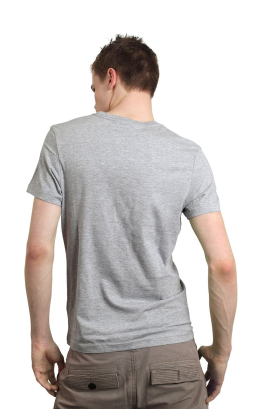 Men's Plain T-Shirt Grey