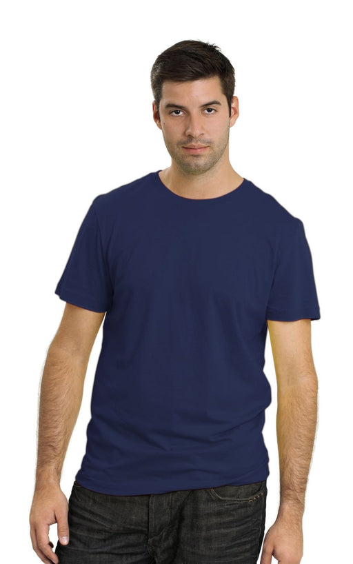 Men's Plain T-Shirt Navy Blue