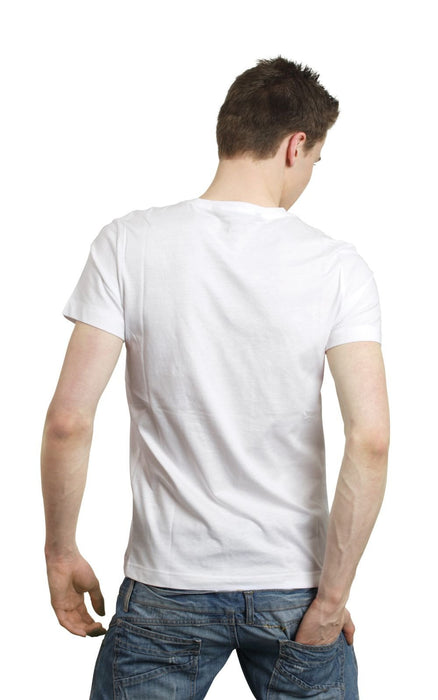 Men's Plain T-Shirt White