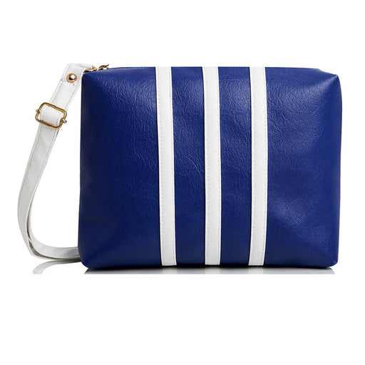 Women's Sling Bag Blue & White DDWSB-06