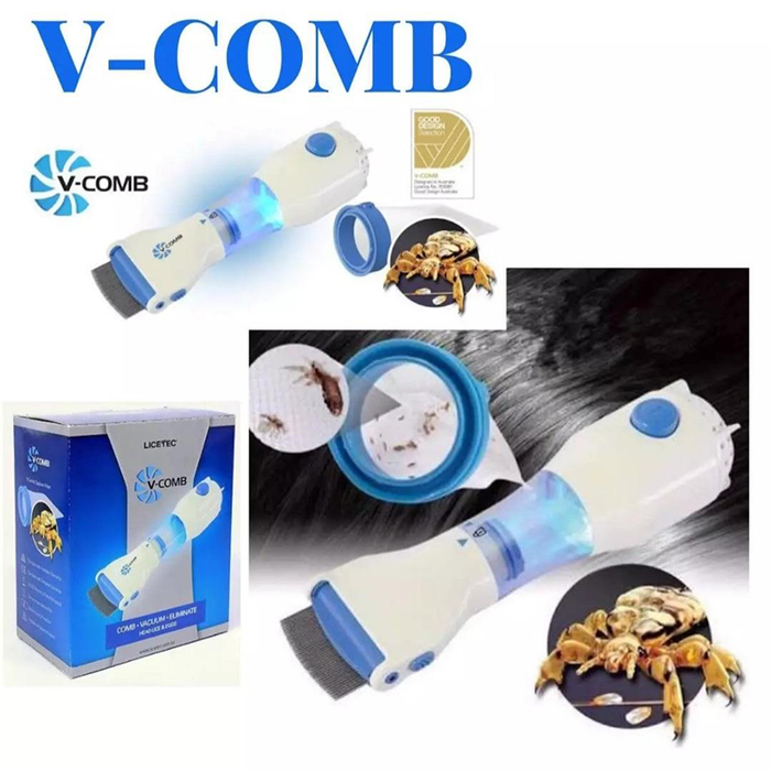 V-COMB Electrical Lice Extracting Machine