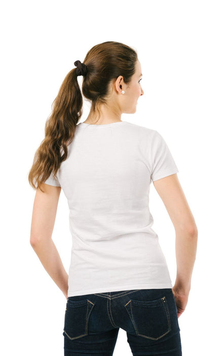 Women's Plain T-Shirt White