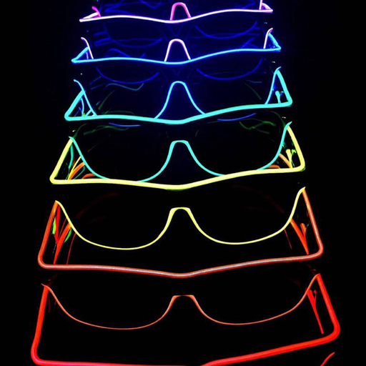 Light Festival Party Glow Sunglasses