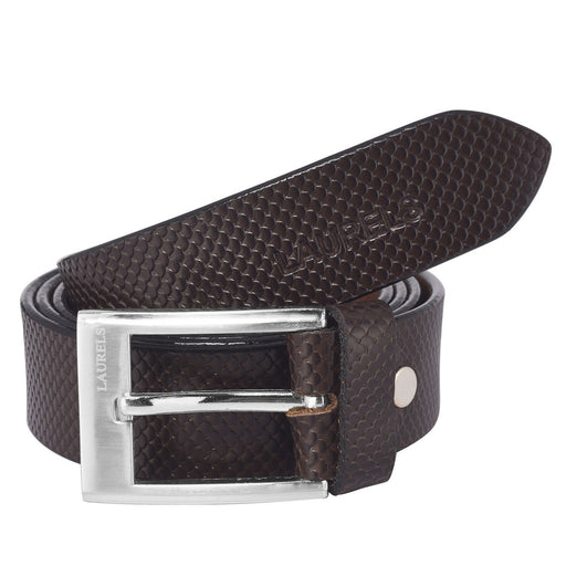 Brown Color Semi- Formal Leather Belts- For Men