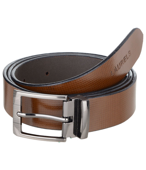 Brown Color Semi- Formal Genuine Leather Belts For Men- Lbt-Crs-09