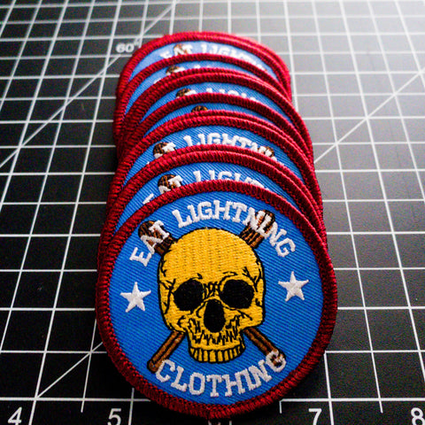 Eat Lightning Clothing Accessories Slugger Patch