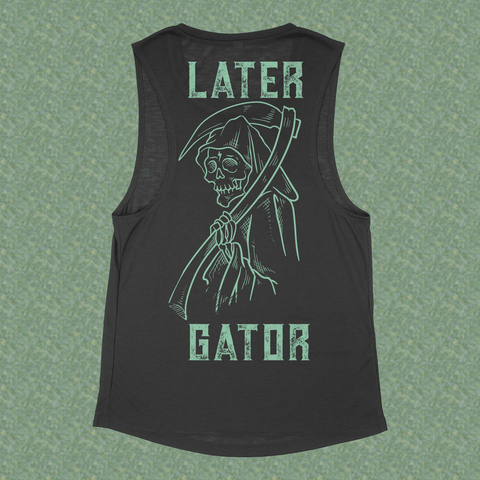 Eat Lightning Clothing Shirts L Creaper V1 Ladies Black Tank