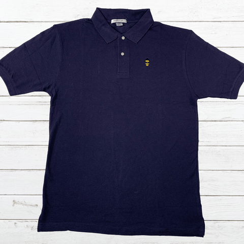 Eat Lightning Clothing Shirts Rebel Polo Navy