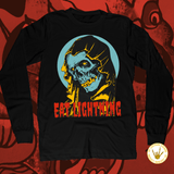 Eat Lightning Clothing Shirts S Grim Long Sleeve