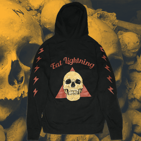 Eat Lightning Clothing Shirts S Lightning Steve Pullover Hoodie