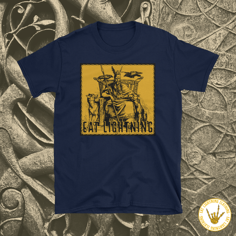 Eat Lightning Clothing Shirts S Odin T-shirt