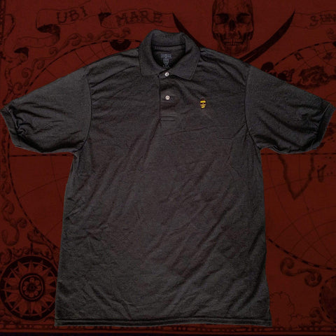 Eat Lightning Clothing Shirts S Rebel Black Polo